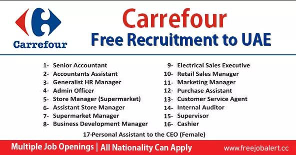 Latest Carrefour In Dubai Uae July 2019 Apply Now