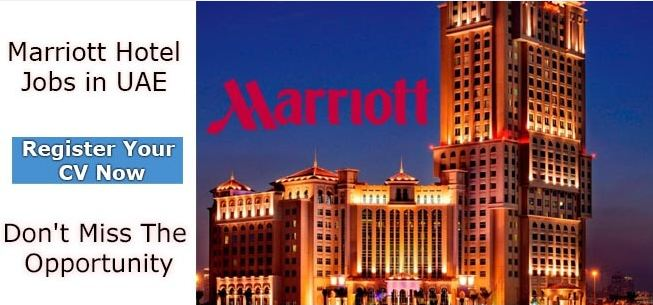Latest Marriott Hotel Jobs July 2019 - Apply Now